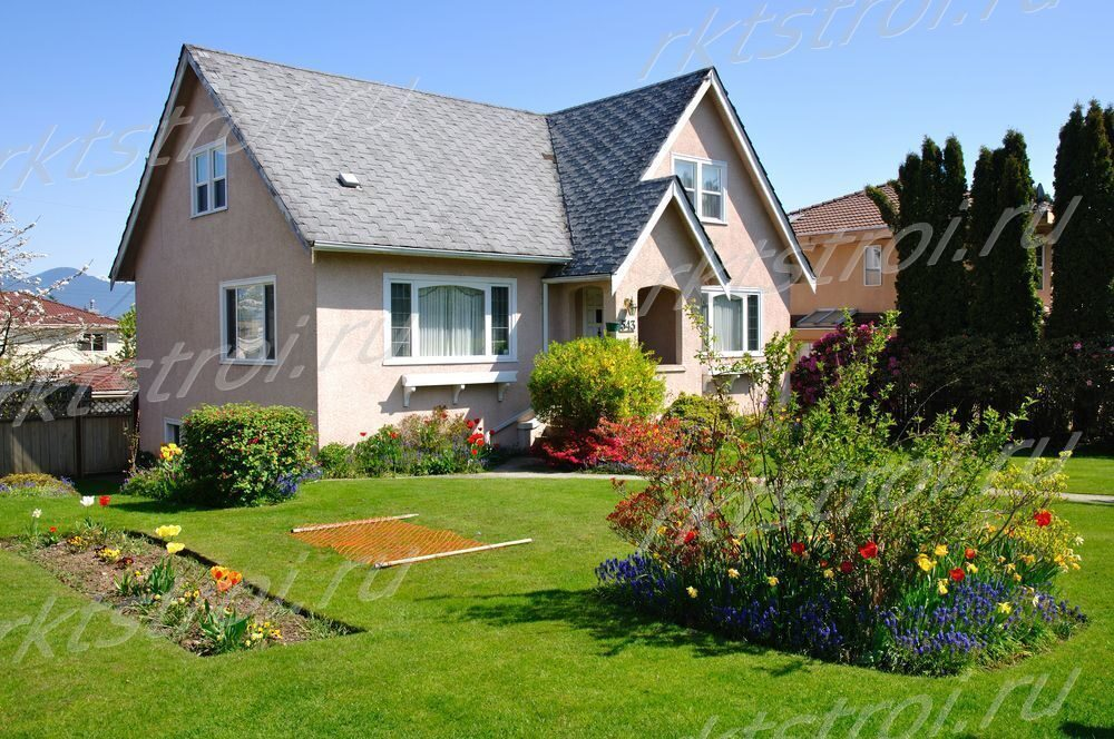 Двор частного дома своими руками не дорого 23